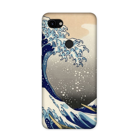 Long Waves Case for Google Pixel 3A XL