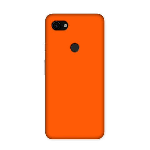 Solid Orange Color Case for Google Pixel 3A XL