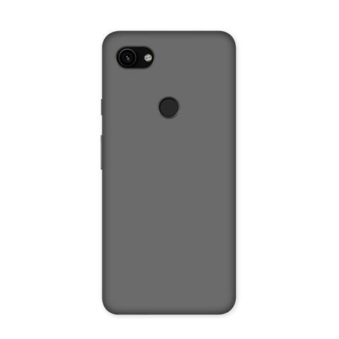 Solid Grey Color Case for Google Pixel 3A XL
