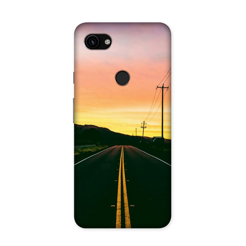 Towards The Sunset Case for Google Pixel 3A XL