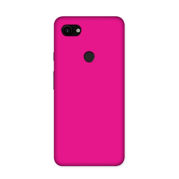 Solid Magenta Color Case for Google Pixel 3A XL