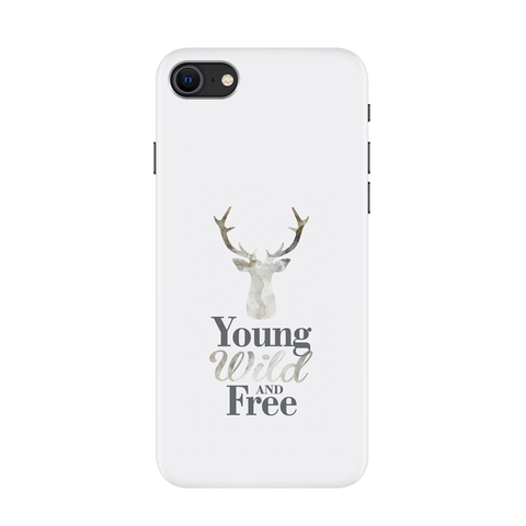 Young Wild Case for iPhone SE 2020