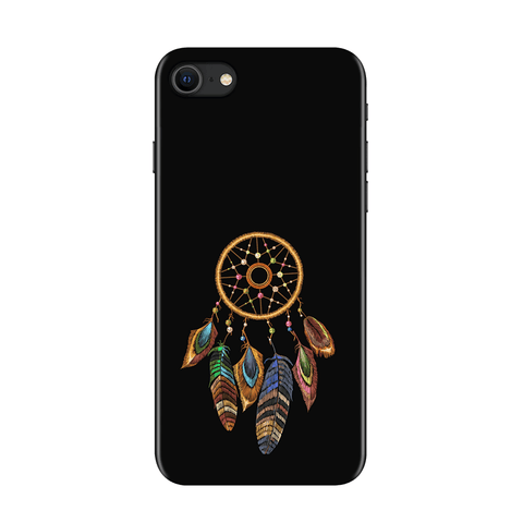 Dreamcatcher Black Case for iPhone SE 2020