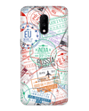 Visa Stamps Case for OnePlus 7