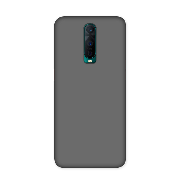 Solid Grey Color Case for Oppo R17 Pro