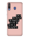 Happy Soul Case for Samsung Galaxy M30