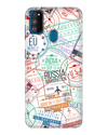 Visa Stamps Case for Samsung Galaxy M30S