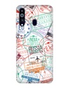 Visa Stamps Case for Samsung Galaxy M40
