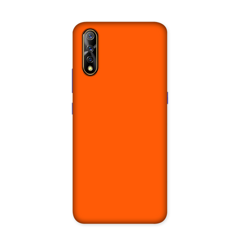 Solid Orange Color Case for Vivo S1