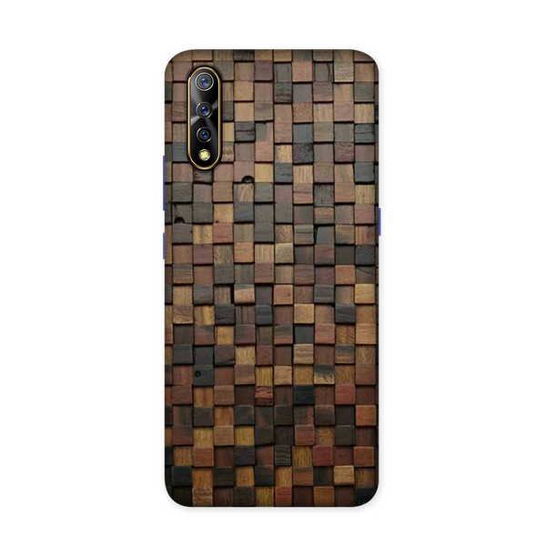 Wooden Blocks Case for Vivo S1