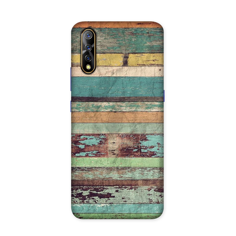 Oldwood Texture Case for Vivo S1