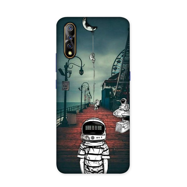 Astronaut Samuca Case for Vivo S1