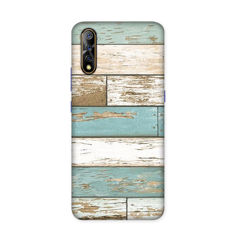Chipped Wood Case for Vivo S1