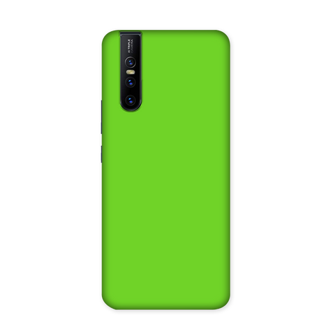 Solid Green Color Case for VIVO V15 Pro