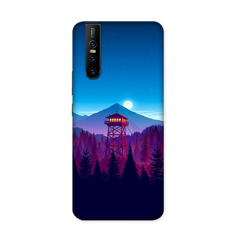 Moon And Mountains Case for VIVO V15 Pro