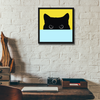 That Cat Framed Wall Art - Square
