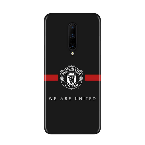 ManU Black Case for OnePlus 7 Pro