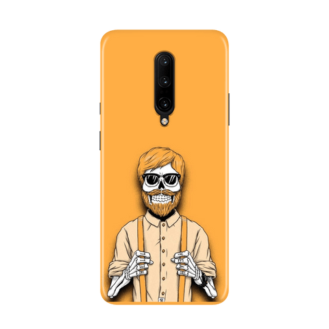 Painted Yellow Case for OnePlus 7 Pro