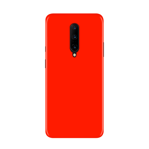 Solid Red Color Case for OnePlus 7 Pro