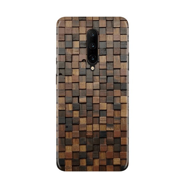 Wooden Blocks Case for OnePlus 7 Pro