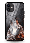 Winter Dog Glass Case for iPhone 11
