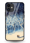 Moon Walk Glass Case for iPhone 11