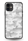 Light Camouflage Glass Case for iPhone 11