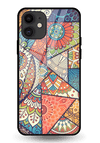 Indian Art 1 Glass Case for iPhone 11