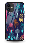 Dreamcatcher Glass Case for iPhone 11