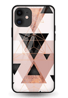 Sukona Triangles Glass Case for iPhone 11