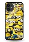 Minions Glass Case for iPhone 11