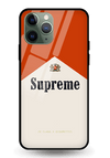Supreme Alberot Glass Case for iPhone 11 Pro