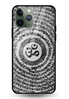 Om Shloka Glass Case for iPhone 11 Pro