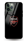 Arsenal Fan Glass Case for iPhone 11 Pro