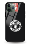 Manchester United Black Glass Case for iPhone 11 Pro