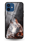 Winter Dog Glass Case for iPhone 12