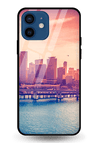 Citylife Glass Case for iPhone 12 Mini