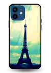 French Love Glass Case for iPhone 12 Mini