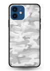 Light Camouflage Glass Case for iPhone 12