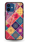 Indian Art 2 Glass Case for iPhone 12