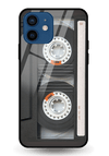 Audio Tape Glass Case for iPhone 12 Mini