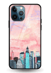 Paint Skyscraper Glass Case for iPhone 12 Pro