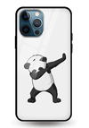 Dancing Panda Glass Case for iPhone 12 Pro