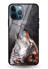 Winter Dog Glass Case for iPhone 12 Pro