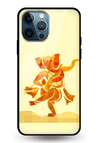Ganesha Art Glass Case for iPhone 12 Pro