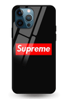 Supreme Glass Case for iPhone 12 Pro
