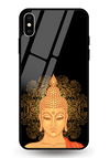 Buddha Glass Case for iPhone XS