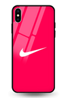 Just Do It Glass Case for iPhone XS