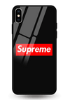 Supreme Glass Case for iPhone XS