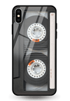 Audio Tape Glass Case for iPhone XS